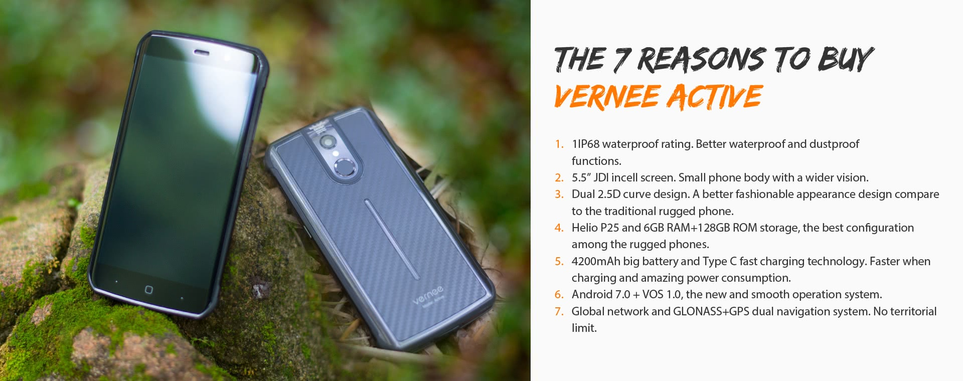 Vernee Active IP68 4G Smartphone Only $279.99 | Cellphone Deals | Tomtop