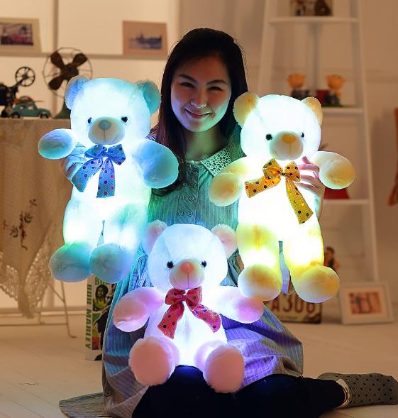 led plush toys