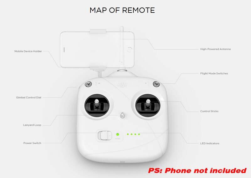 DJI Phantom 3 Standard RC Quadcopter