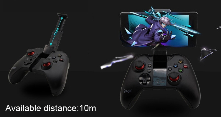 iPega PG-9037 Wireless Bluetooth Controller Android Gamepad Joystick Game Controller for Android iOS iPhone Tablet PC TV Box