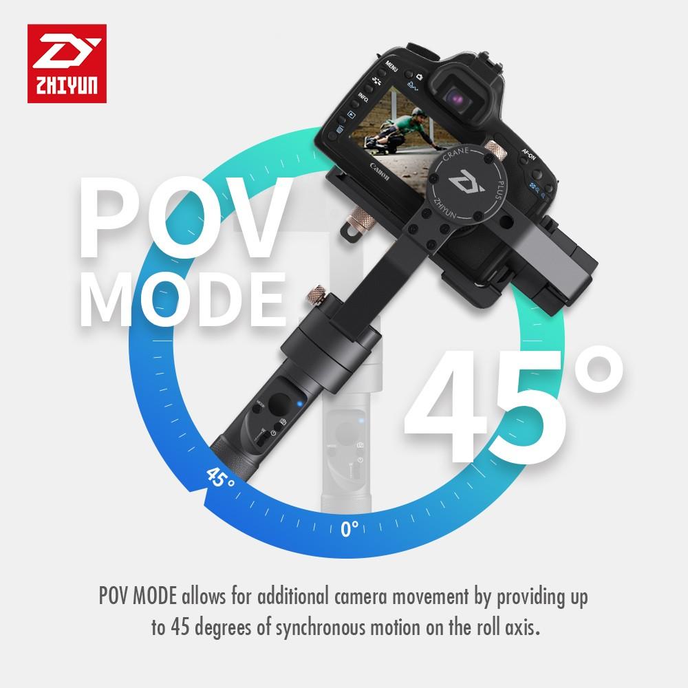 Zhiyun Crane Plus 3 Axis Handheld Gimbal Stabilizer