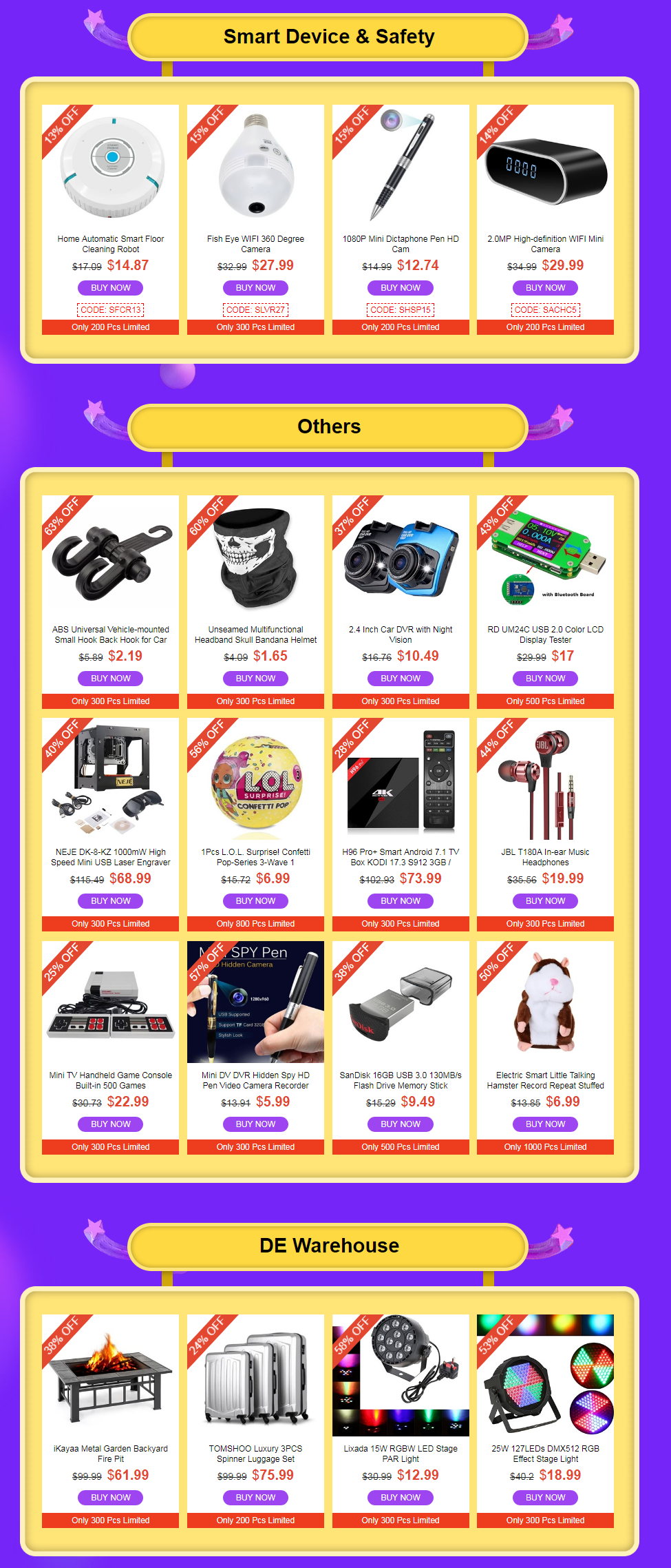 Smart device others tomtop winter Clearance