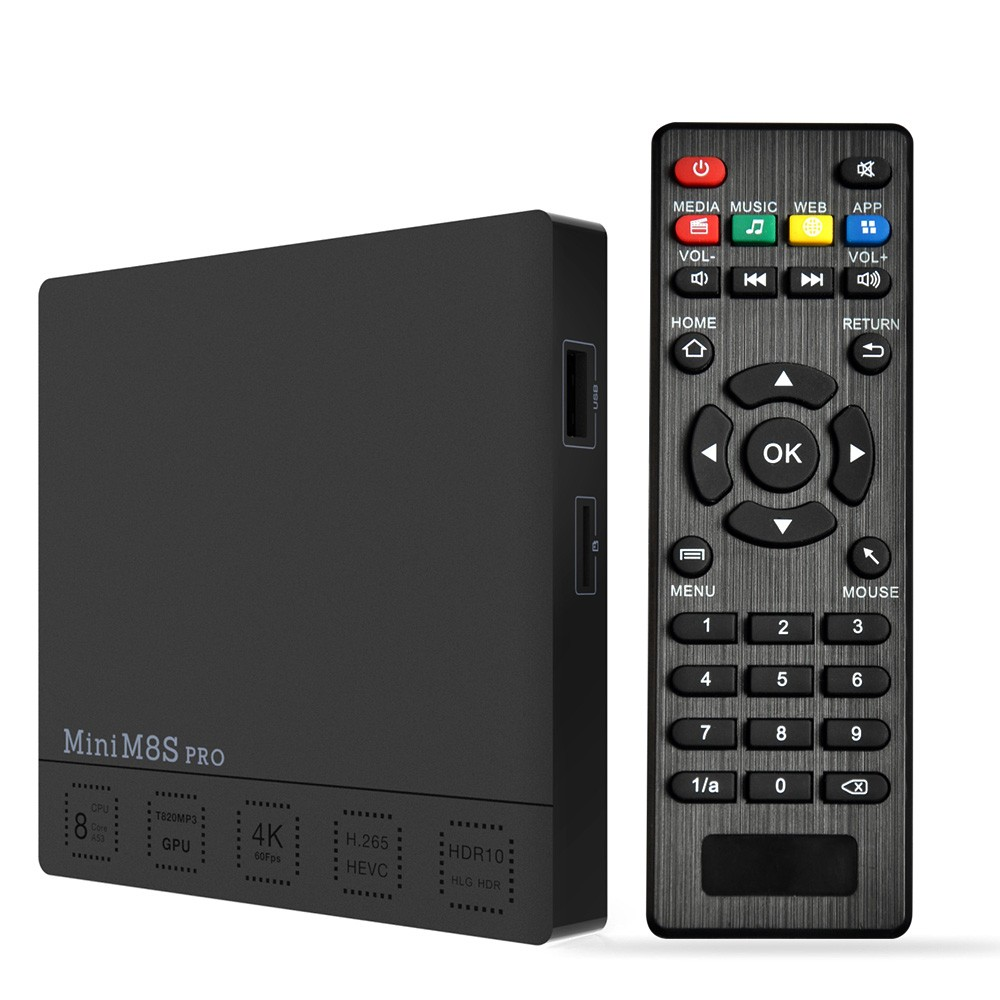 Mini M8S PRO Android 7.1 TV Box Amlogic S912 3GB / 32GB EU Plug