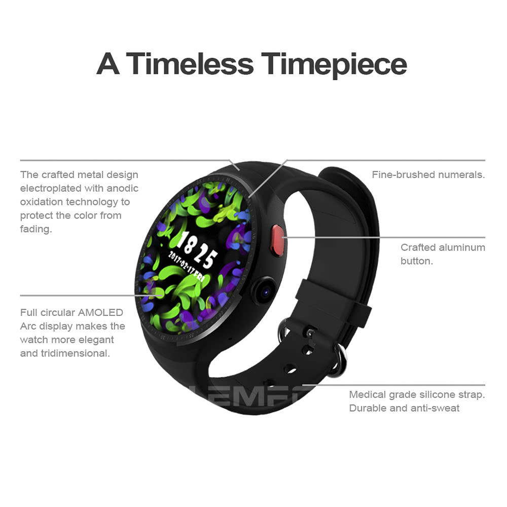 Review for LEMFO LES 1 3G Smartwatch Phone