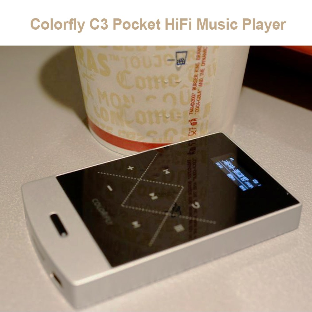 Colorfly C3 Pocket HiFi Music MP3 Player Flash Sale