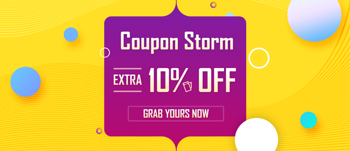 Tomtop Coupons Storm for 2017 Top Sellers, Extra 10% Off