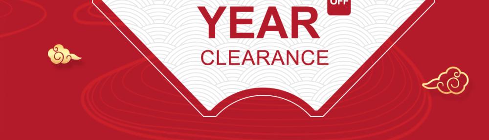 new year ckearance