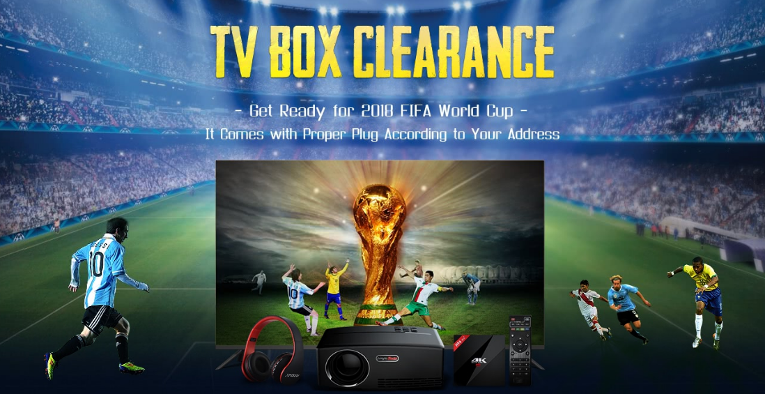2018 Android Tv Box Clearance Cn Us De Uk Warehouse With Big