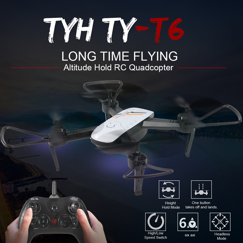 TYH TY-T6 RC Quadcopter Wifi FPV Drone Review