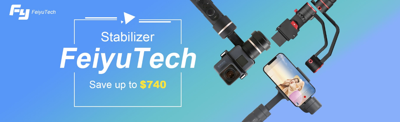 FeiyuTech Products with Promotional Sale