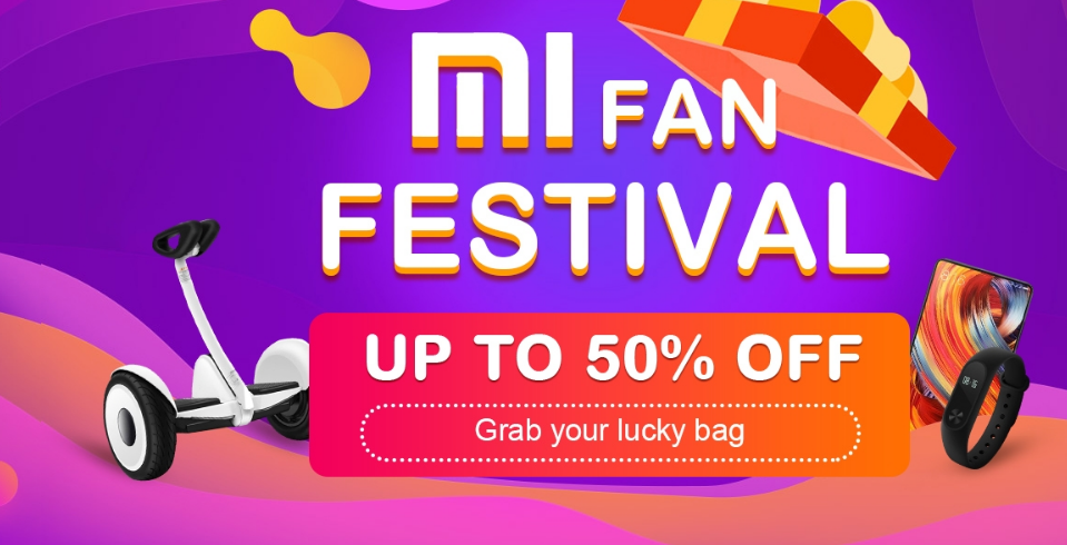 Mi Fan Festival, Grab Your Lucky Bag, Up to 50% off