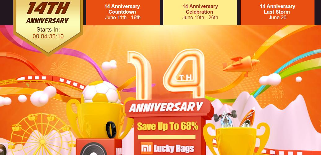 14th anniversary sale