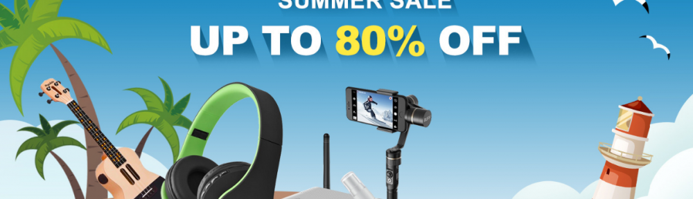 2018 Hot Products Summer Sale, Up to 80% OFF, From $0.59 | Tomtop
