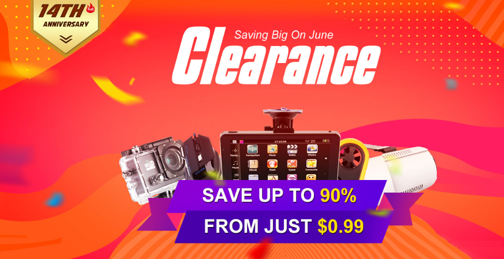 2018 Totmop Clearance, Save Up to 90%! From Just $0.99! | Tomtop