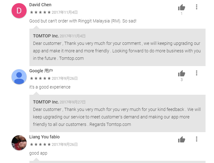 TOMTOP APP REVIEW