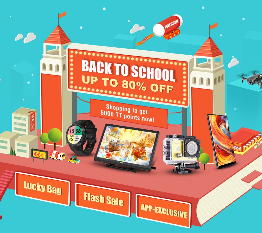 2018 Back to School Season Sale, Save Up to 80% Off