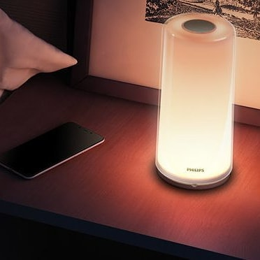 Philips Zhirui bedside lamp lights
