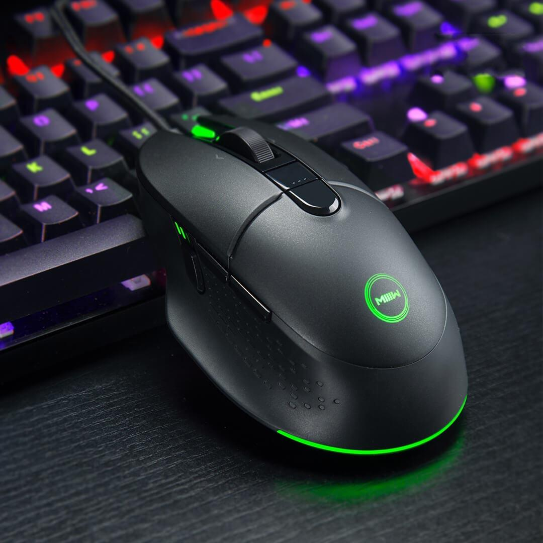 MIIIW Game Mouse that makes you feel more [hot]