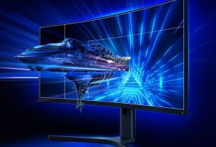 Xiaomi Curved Gaming Monitor Screen 34 Inch
