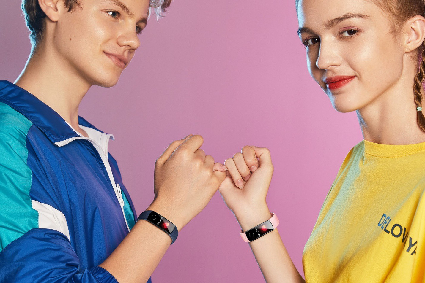 huawei honor band 5 - boy & girl